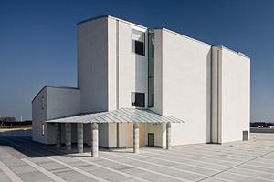 Beton til moderne kirke