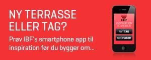 IBF app få inspiration til ny belægning eller tag