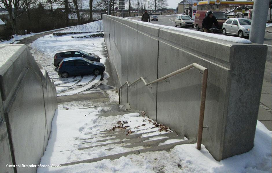 Beton element vægge