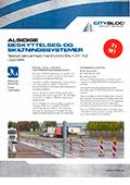 CityBloc alsidige beskyttelses- og skiltningselementer