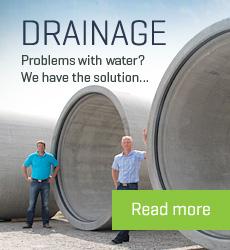 Concrete drainage
