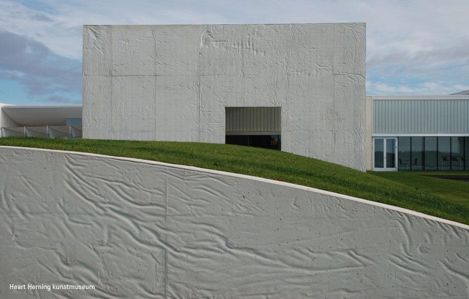 In-situ støbt betonvægge med spil