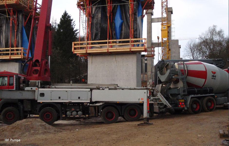 IBF betonpumpe bil