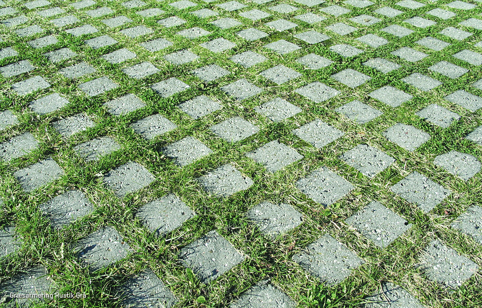 Grass Reinforcement Block Rustic Grass Reinforcement Ibf