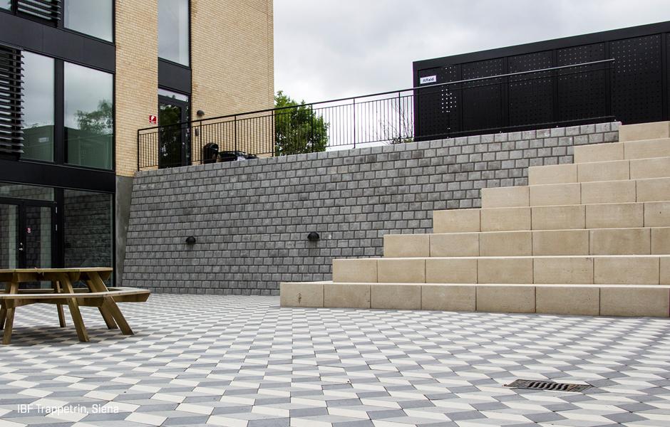 Oprindeligt Trappetrin i beton. Stort udvalg | IBF OZ41