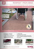 Rompox profil deko brochure
