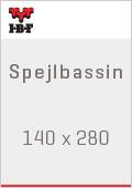 IBF Spejlbassin 140 x 280