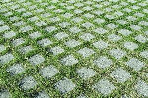 Rustik græsarmering