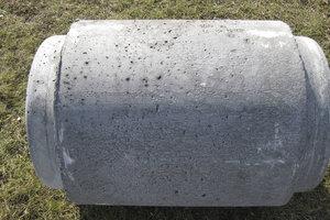 IG spidsenderør i beton