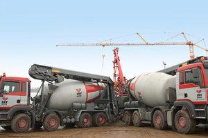 Moderat agressiv i betonbiler