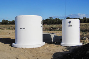 UNISEP Lameludskiller med centralsektion 45/90-900 l/s