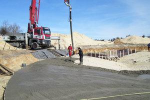 Pumpe beton
