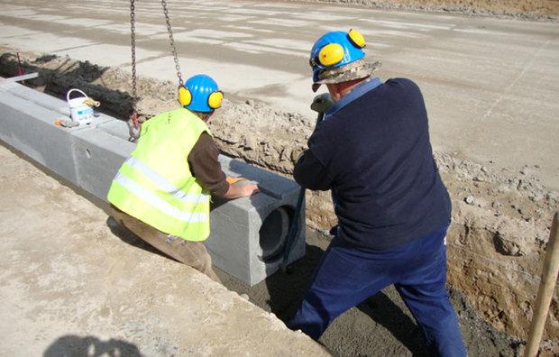 beton afvandingskanal