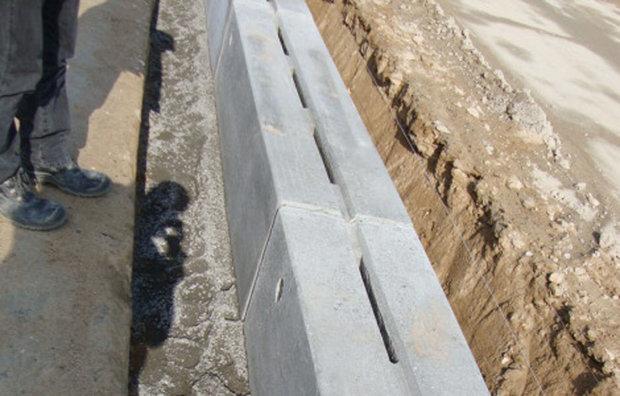 LAR afvandingskanal i beton