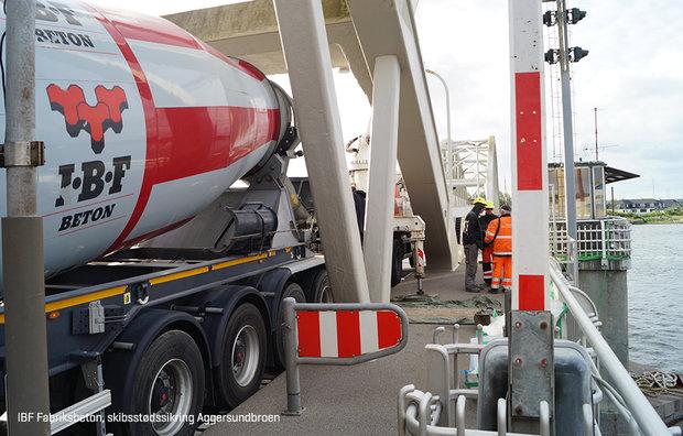 IBF støbning af beton