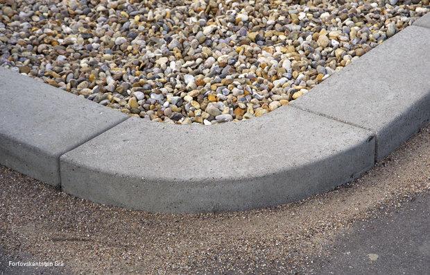 Sidewalk curbs grey 1