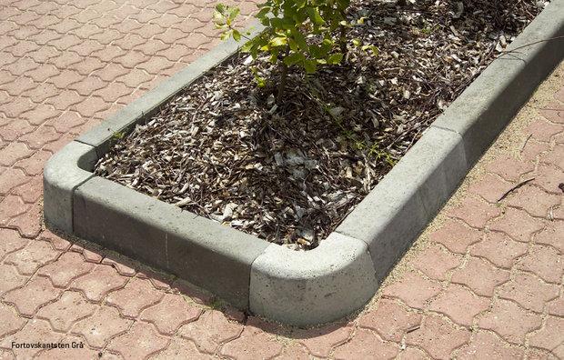 Sidewalk curbs grey 3