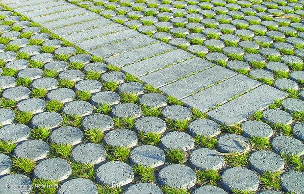 Græsarmeringssten fra Modulserien