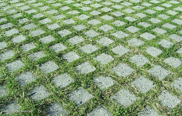 Græsblokke rustik grå 1