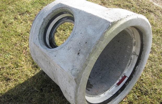IG grenrør i beton