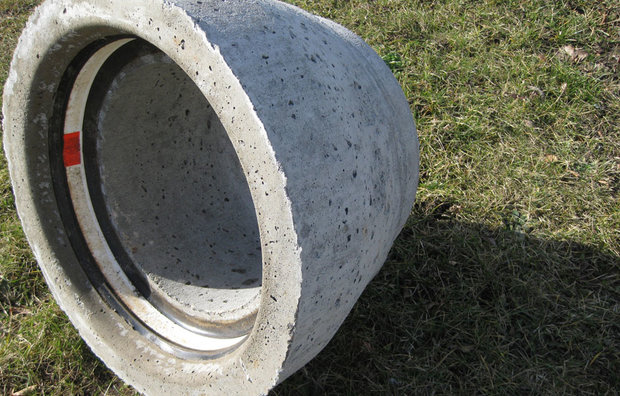 ig Påboringsrør i beton