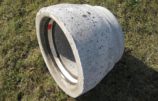 ig pasrør uden fod i beton