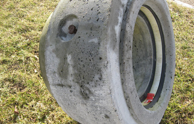 ig Reduktionsrør i beton