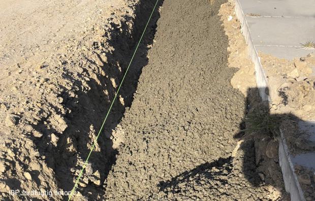 Jordfugtig beton