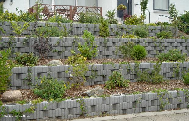 Plantesten Type 8 grå 1