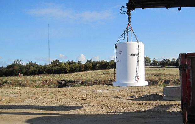 UNISEP Lameludskiller med centralsektion 20/35-400 l/s