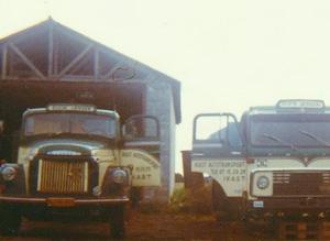 Gamle IBF lastbiler